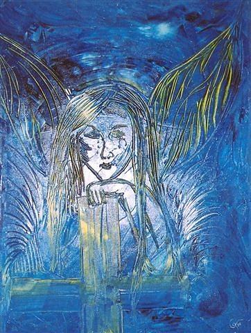 Engelsgeduld Painting By Gunter Tanzerel