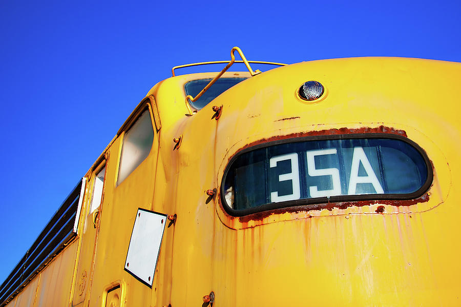 Diesel Photograph - Engine 35a by Todd Klassy