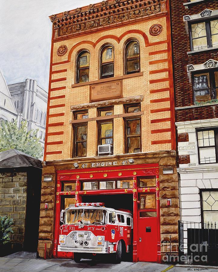 Engine Company 47 Painting