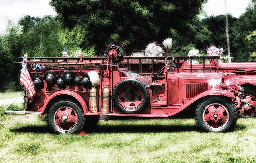 Firetrucks Photograph - Engines Of Fire by Steven Digman