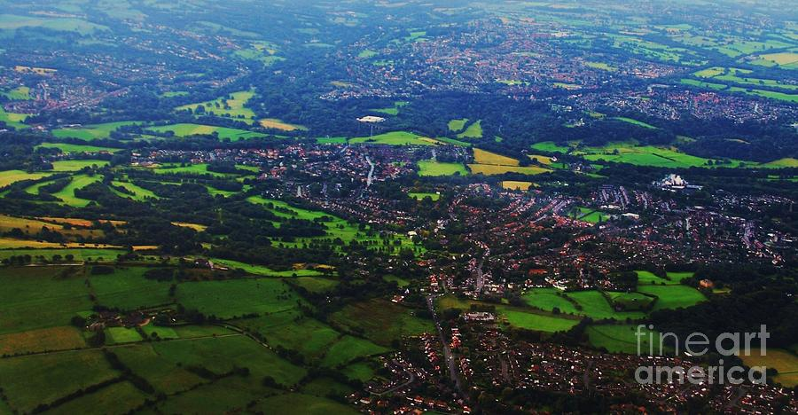 An Aerial Vision Of England Photograph by Marcus Dagan