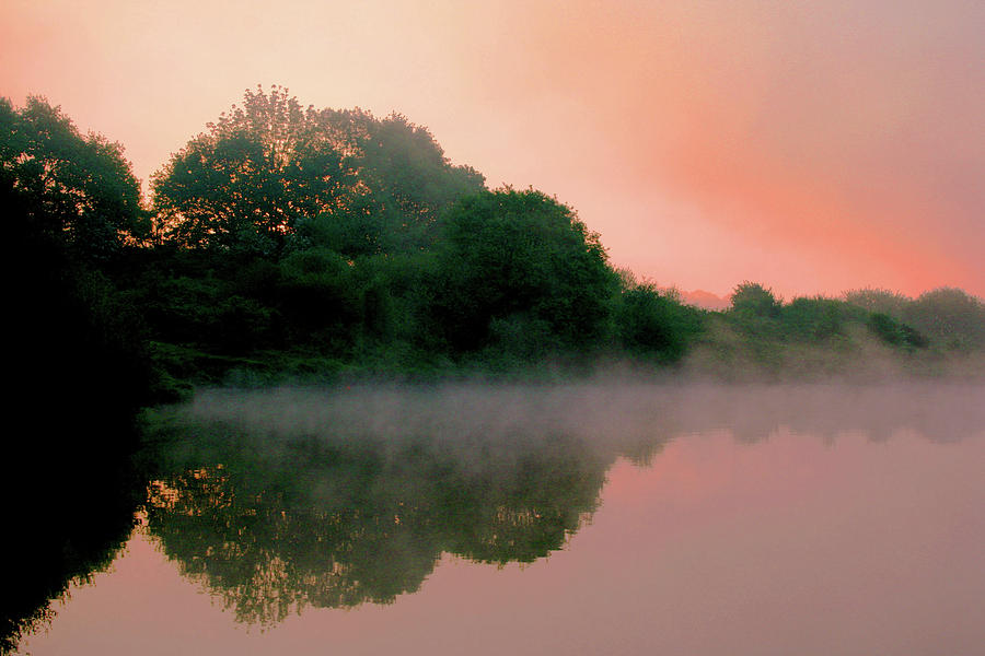 England Photograph - England Pond At Sunrise by Dan Pearce