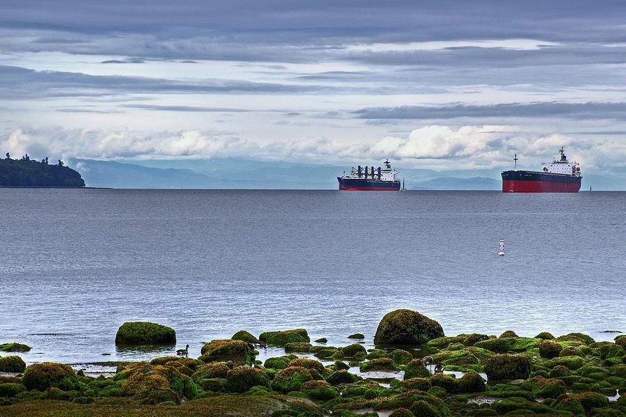 English Bay Photograph - English Bay by Richard Hinds
