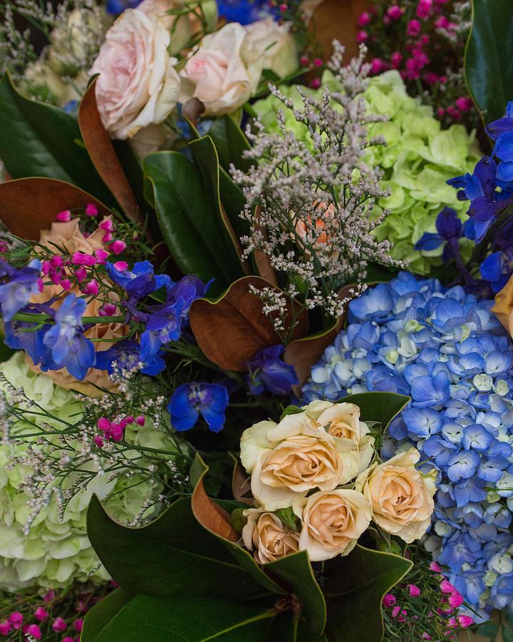 Bouquet Photograph - English Bouquet by Julie Andel