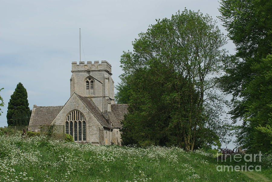 Country Church Photograph - English Country Spring by Catja Pafort
