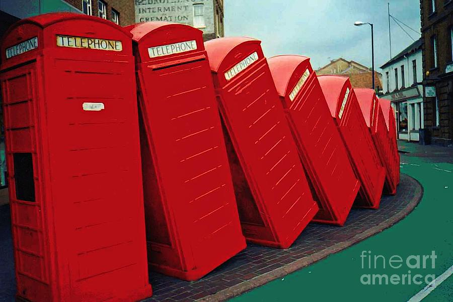 Sarah Loft Photograph - English Domino Effect by Sarah Loft