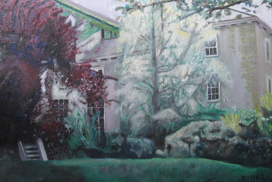 English Painting - English Estate by Keith Bagg