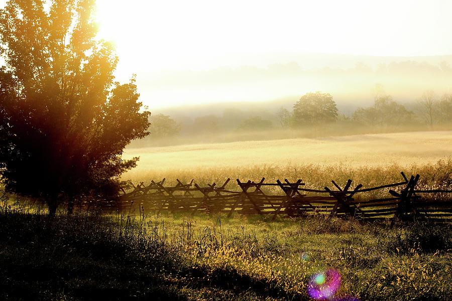Scenic Photograph - English Morning by Everett Houser