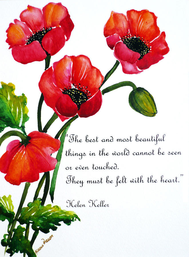 English poppy poem painting by karin dawn kelshall best painting painting english poppy poem by karin dawn kelshall best mightylinksfo