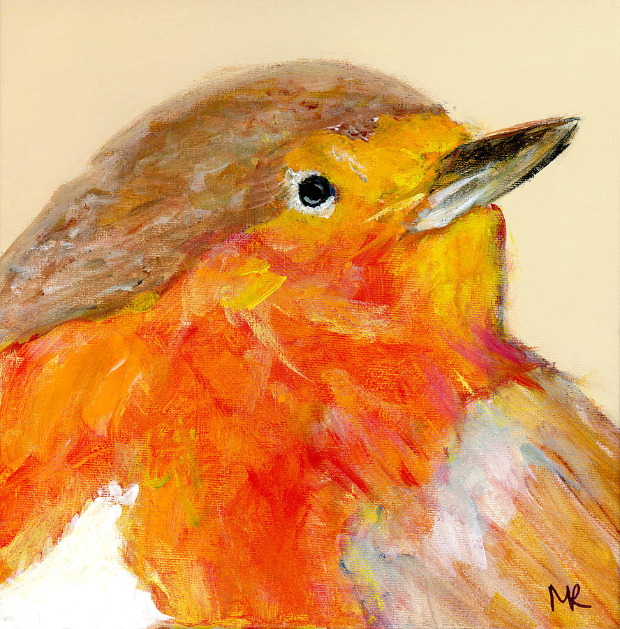 English Robin III by Michelle Reeve