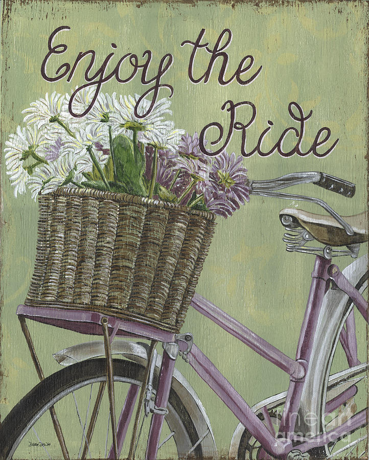 Enjoy The Ride Painting