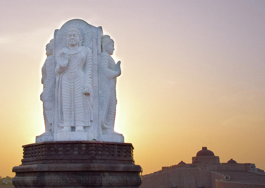 City Photograph - Enlightened Buddha  by Atullya N Srivastava
