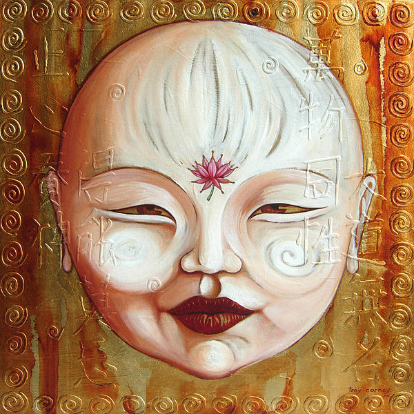 Enlightenment Painting by Troy Carney