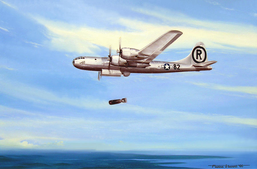Enola Gay Painting By Marc Stewart