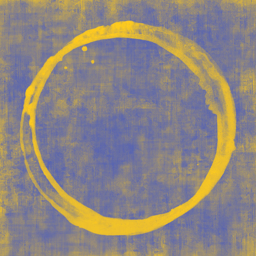 Circle Painting - Enso 1 by Julie Niemela