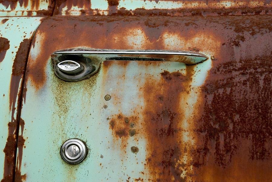Door Photograph - Enter by Jennifer  Owen