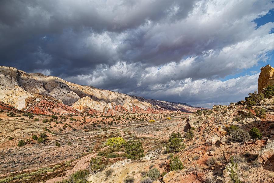 Entering The Desert Portal Photograph