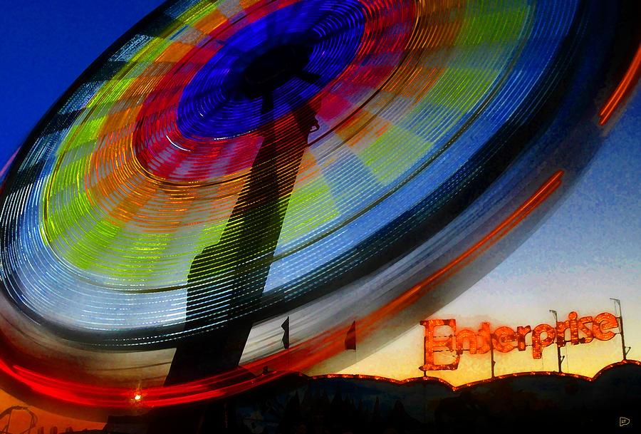 Enterprise Painting - Enterprise by David Lee Thompson
