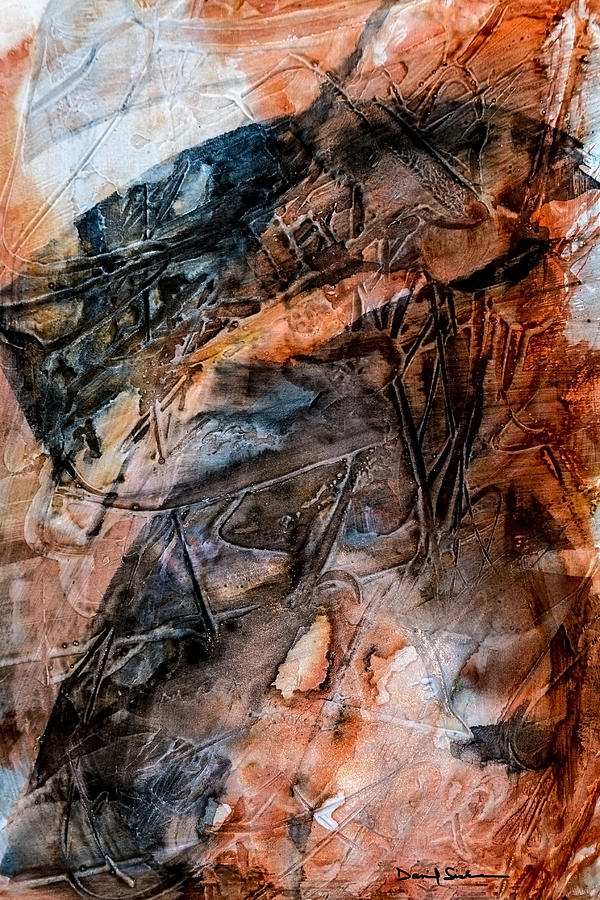 Abstract Painting - Entity Embedded by Dan Sisken