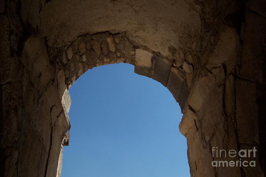 Arch Photograph - Entrada by Jennifer Diaz