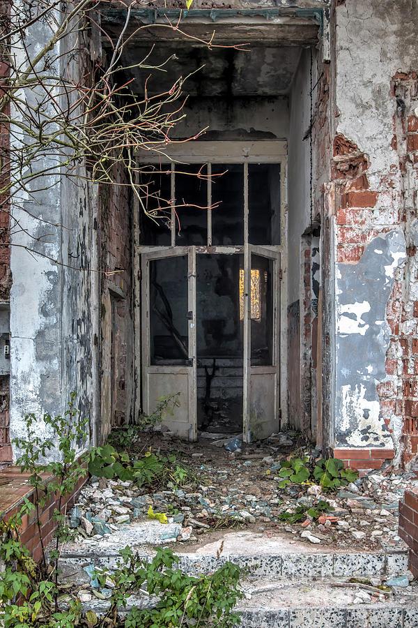 Derelict Photograph   Entrance   Old Broken Door By Michal Boubin