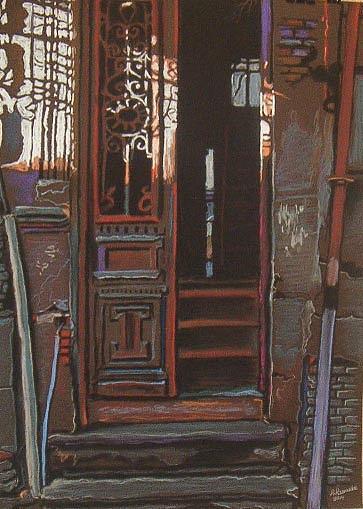 Entrance Painting - Entrance by Ramaz Razmadze
