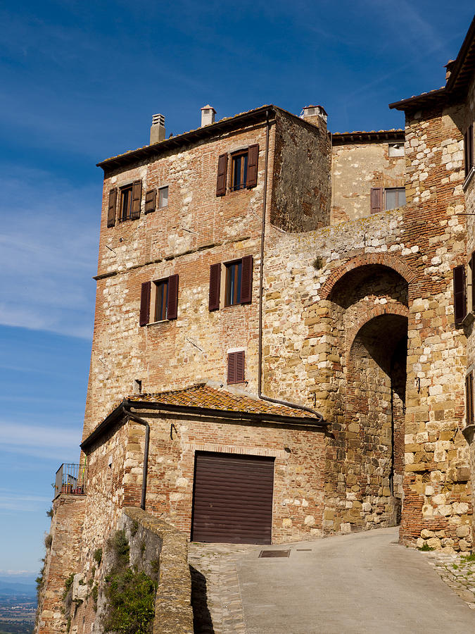 Montepulciano Photograph - Entrance To The City by Rae Tucker