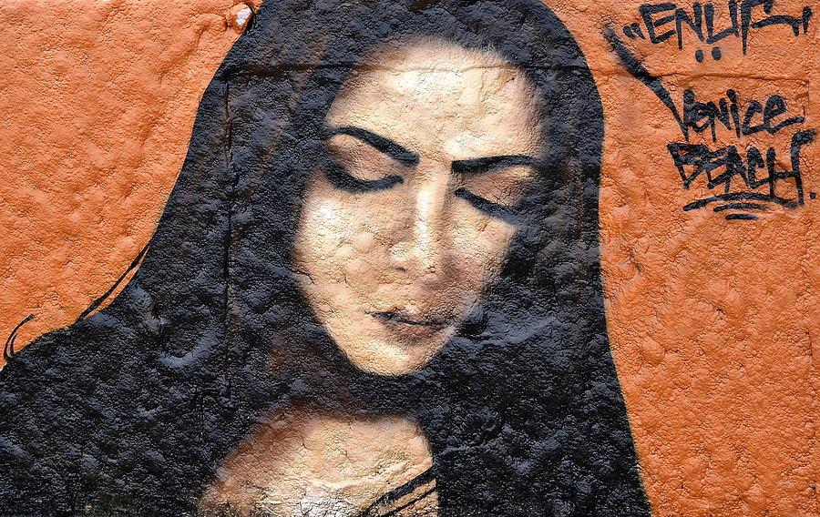 Graffiti Photograph - Enuf by Fraida Gutovich