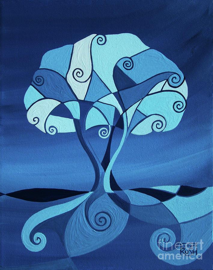 Enveloped in Blue by Barbara Rush