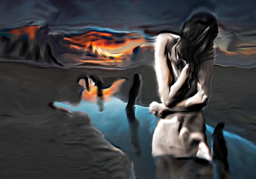 Nature Painting - Environment Zero by Naikos N