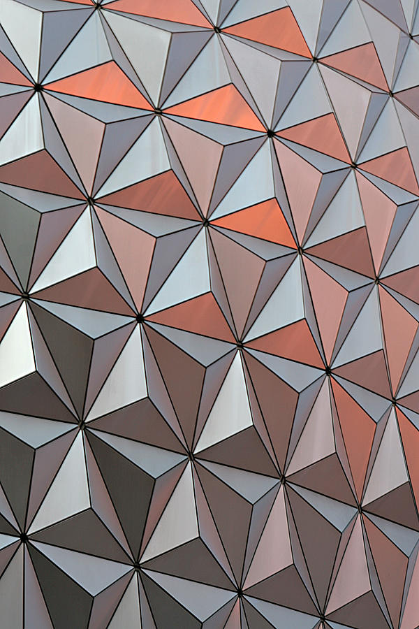 Abstract Photograph - Epcot Pattern by Linda Phelps