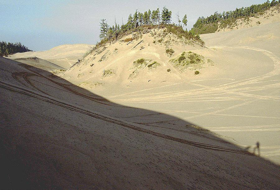 Oregon Dunes National Recreation Area Photograph - Ephemeral by Eike Kistenmacher