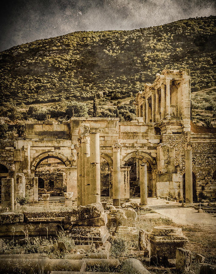 Ephesus, Turkey - Celsus Library by Mark Forte