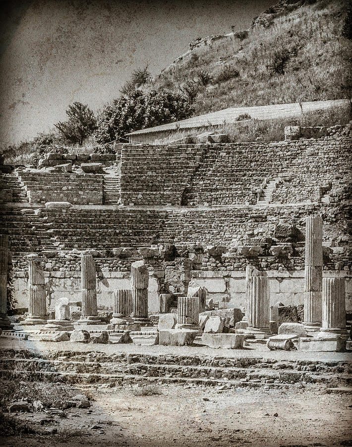 Ephesus, Turkey - Theater by Mark Forte