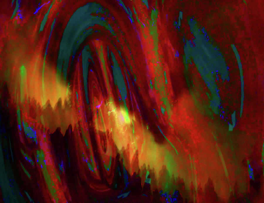 Epic Journey Into The Unknown Abstract by Mike Breau