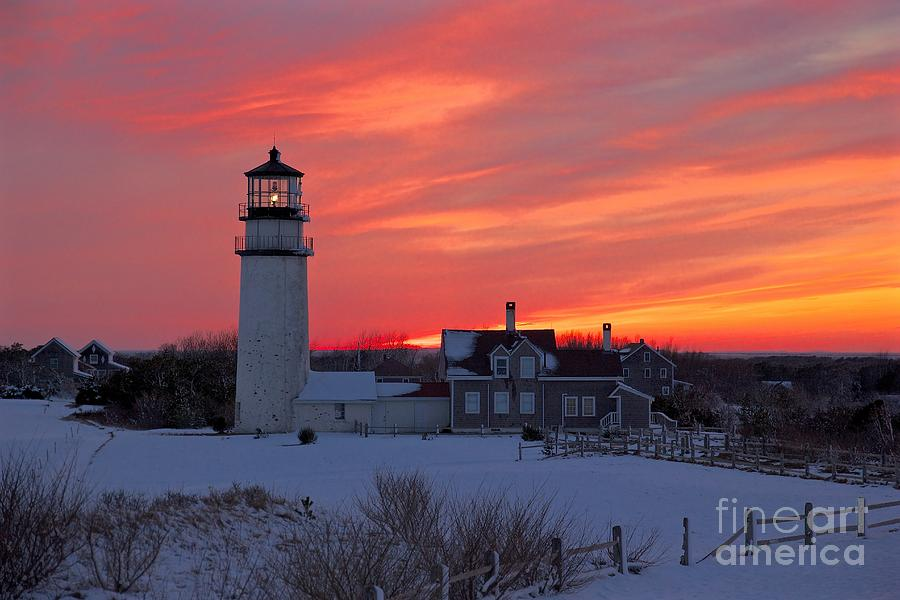 Epic Sunset at Highland Light by Amazing Jules
