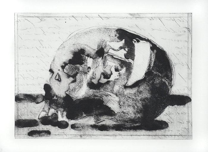Skull Print - Epistolario Estampa. by Fran Torrecilla