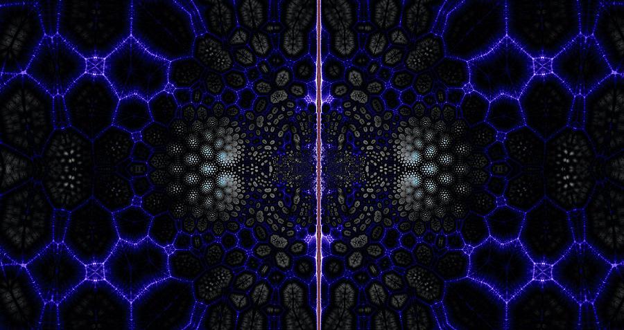 Edgel Match Digital Art by Miles Gray