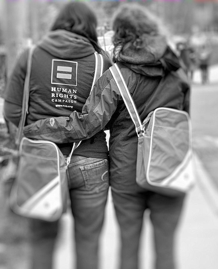 Black And White Photograph - Equality by Barbara Blanchfield
