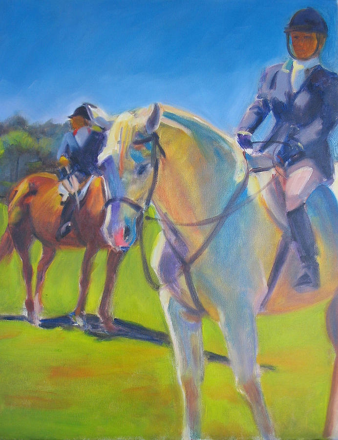 Horse Painting - Equestians by Kaytee Esser