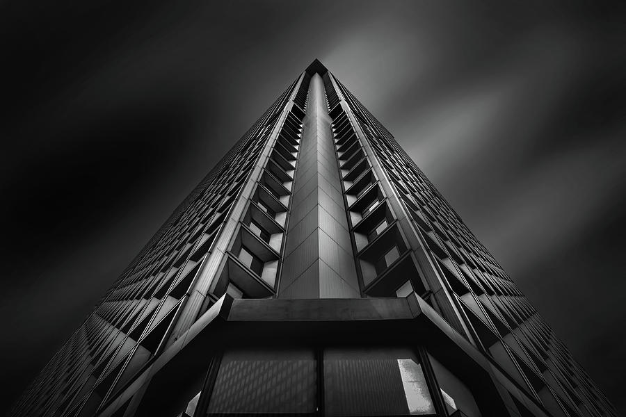 Architecture Photograph - Equilateral by Az Jackson