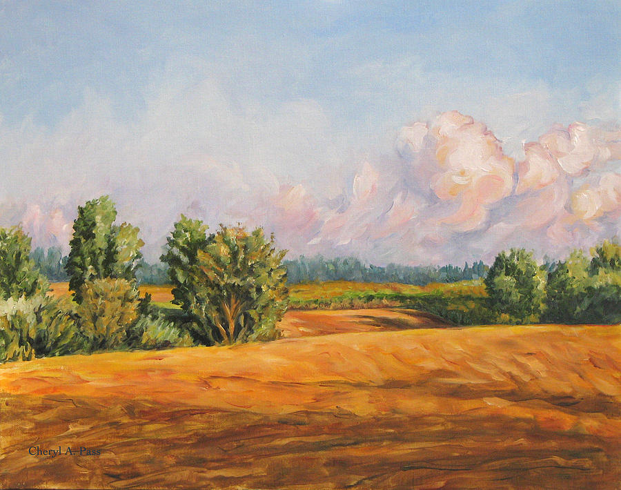 Landscape Painting - Equilibrium by Cheryl Pass
