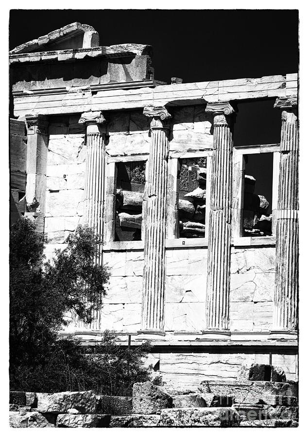 Ruins Photograph - Erechtheum Columns by John Rizzuto