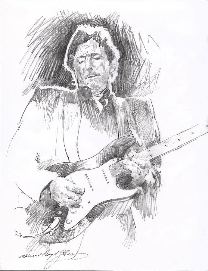 Eric Clapton Blackie Drawing
