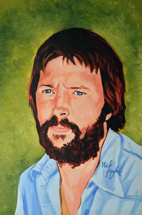 Eric Clapton Painting - Eric Clapton by Neil Feigeles