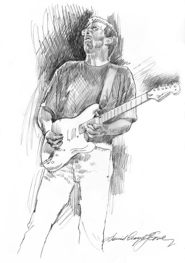 Eric Clapton Strat Drawing