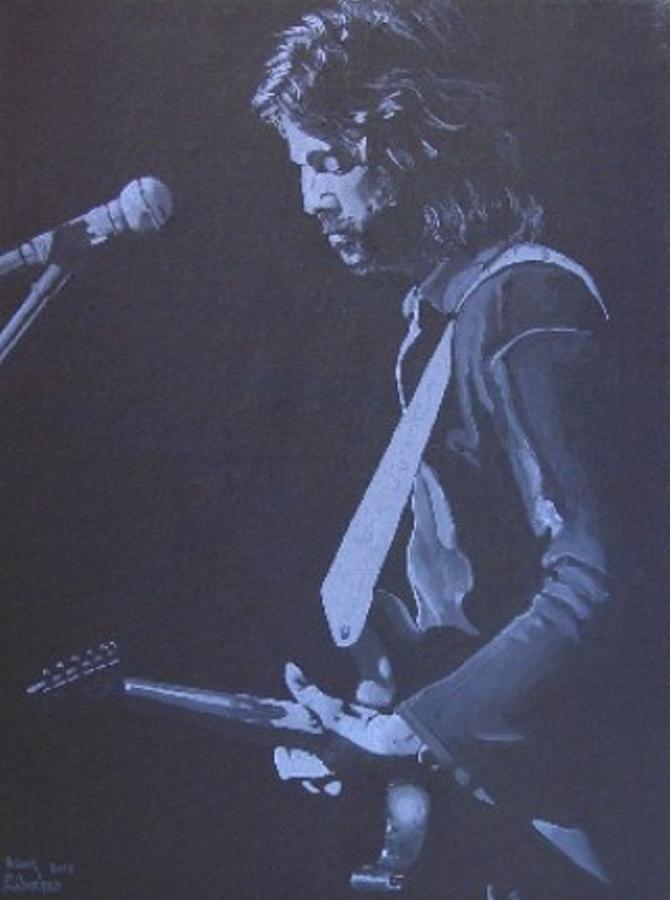 Eric Clapton Painting - Eric by Robert Furbacher