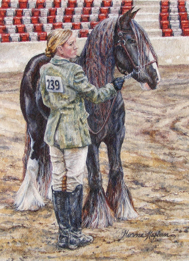 Erica Waiting - Win or Lose  by Denise Horne-Kaplan