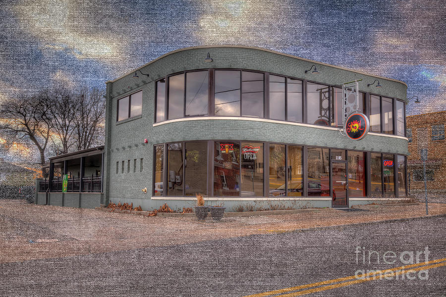 Travel Photograph - Erlbacher Building 1 by Larry Braun