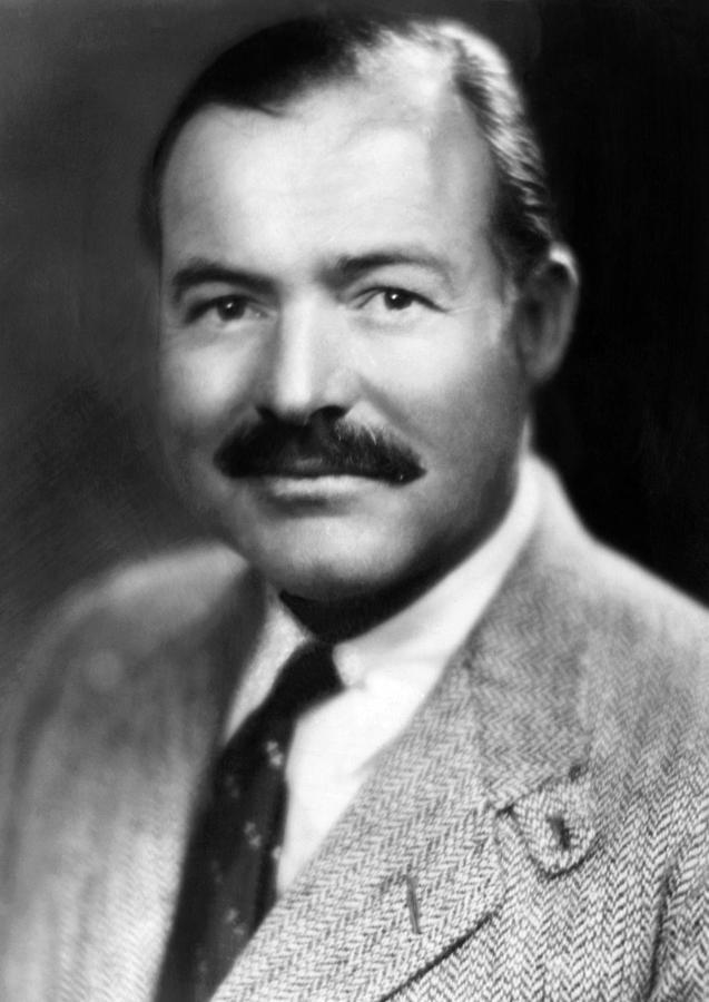Csx Photograph - Ernest Hemingway, Ca. 1940 by Everett